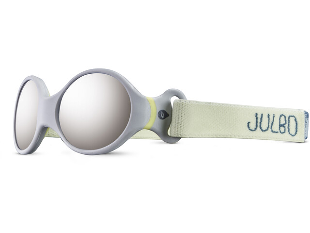 Julbo Loop S Spectron 4 Aurinkolasit Lapset, grey/yellow/grey flash silver